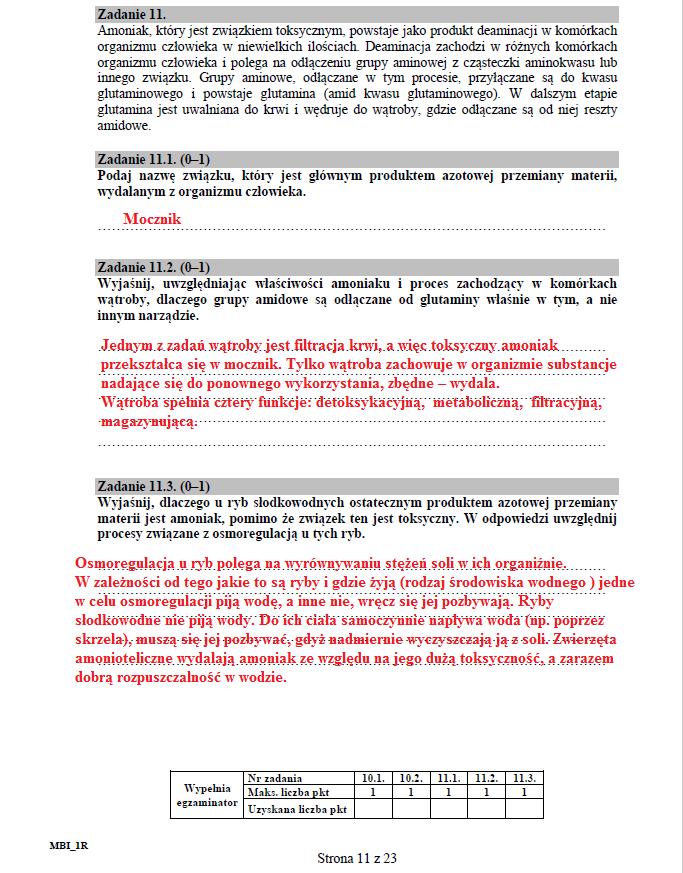 Biologia - poziom rozszerzony, str. 11 /INTERIA.PL