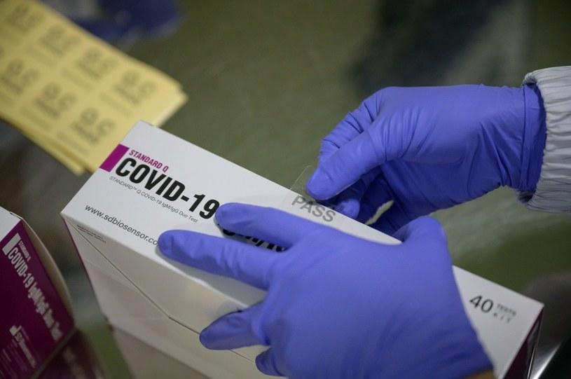 BioMaxima złożyła wniosek o rejestrację testu genetycznego do wykrywania SARS-CoV-2 /AFP