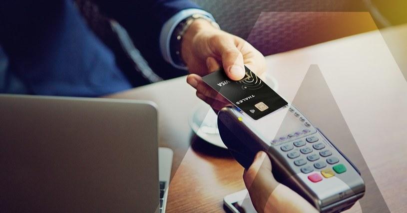 Biometryczna karta płatnicza Thales /materiały prasowe