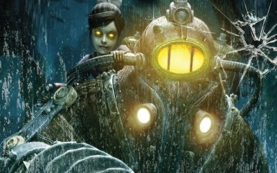 BioShock 2 - fragment okładki z gry /INTERIA.PL