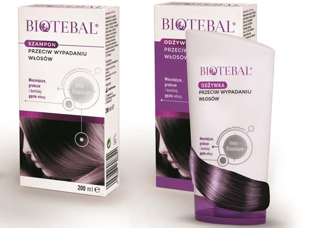 Biotebal szampon i odżywka /materiały prasowe