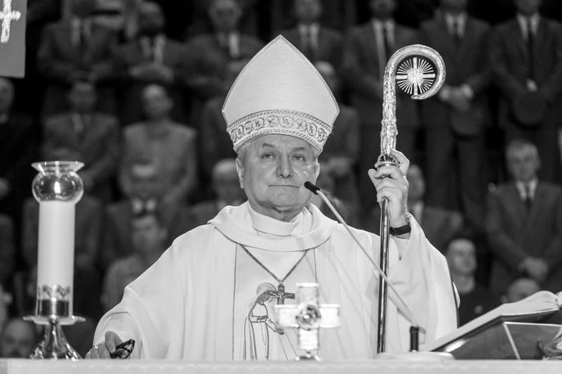 Biskup Edward Janiak zmarł 23 września 2021 roku /PAP/Tytus Żmijewski /PAP