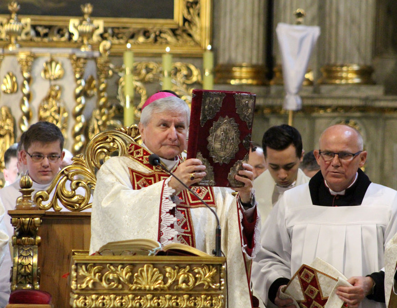 Biskup Edward Janiak /Maciej Konieczny /Reporter