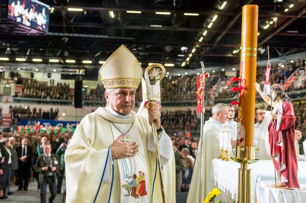 Biskup Edward Janiak /Tytus Żmijewski /PAP