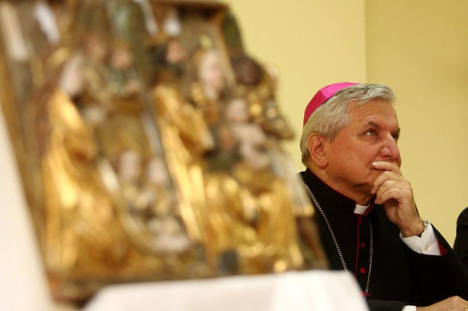Biskup kaliski Edward Janiak /Tomasz Wojtasik /PAP