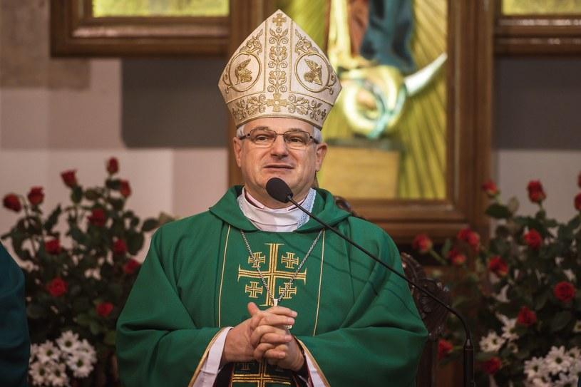 Biskup Marek Mendyk /P.Dziurman /Reporter
