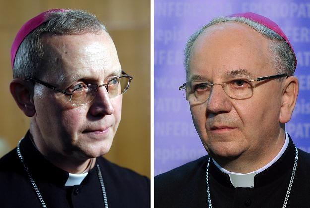 Biskup Piotr Libera (L) oraz biskup Stanisław Budzik (P)/fot. Andrzej Rybczyński/Grzegorz Jakubowski /PAP