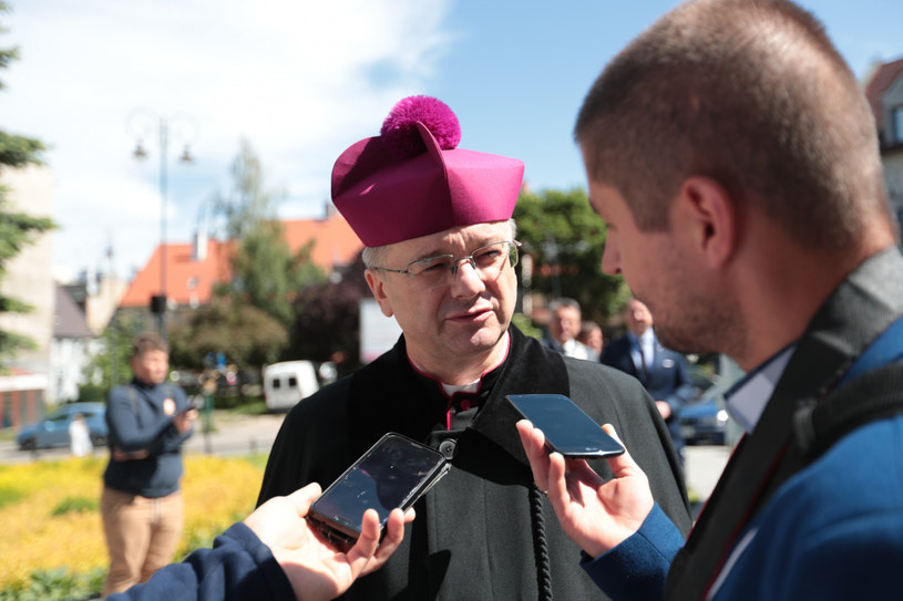 Biskup Tadeusz Lityński /PIOTR JEDZURA/REPORTER /Reporter