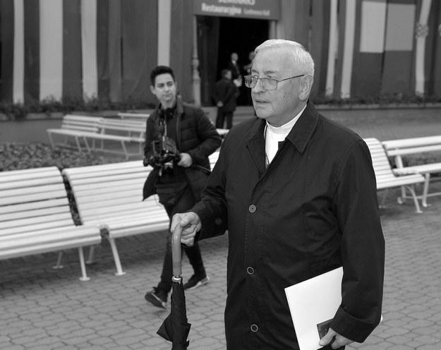 Biskup Tadeusz Pieronek podczas XXVII Forum Ekonomicznego w Krynicy-Zdroju, /Darek Delmanowicz /PAP