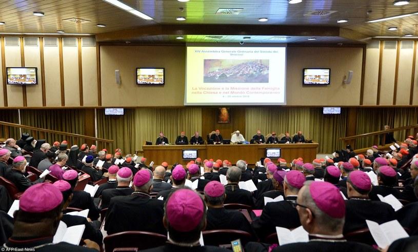 Biskupi podczas obrad synodu /AP Photo/Alessandra Tarantino /East News