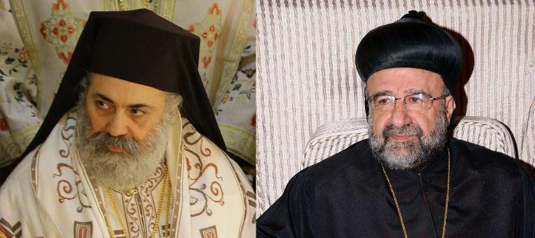 Biskupi zostali uprowadzeni w poniedziałek w pobliżu Aleppo na północy Syrii /AFP