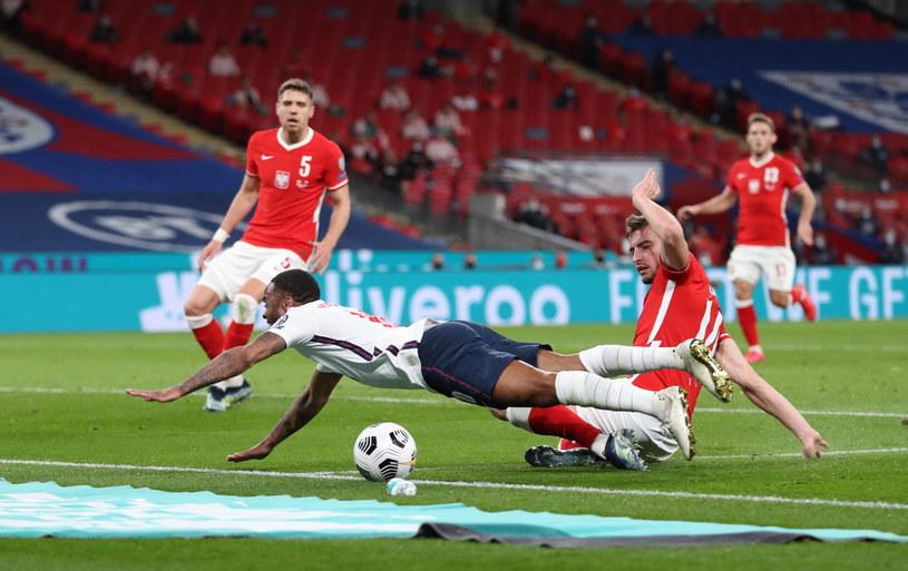 Bitwa Anglii z Polską na Wembley /PAP/EPA