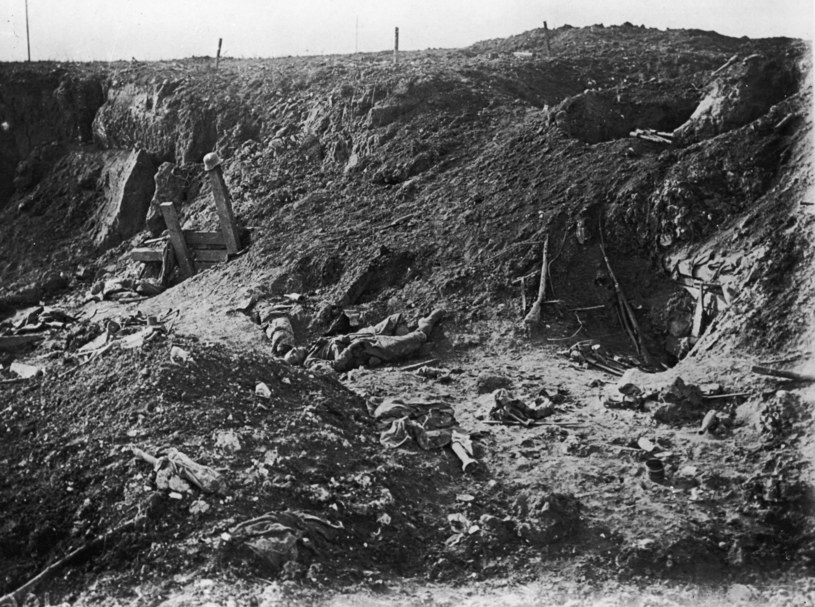 Bitwa nad Sommą pochłonęła ponad milion ofiar. Lewisowi udało się przeżyć /Getty Images/Flash Press Media