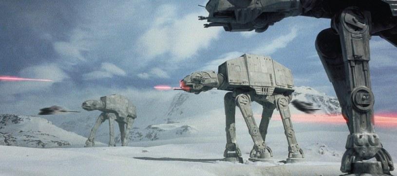 """Bitwa o Hoth w """"Imperium kontratakuje"""" /materiały prasowe"""
