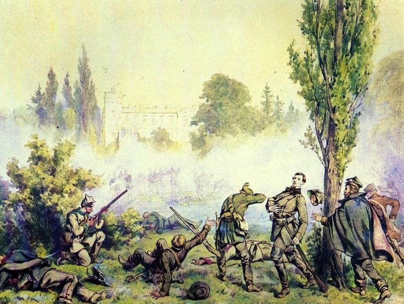 Bitwa pod Miłosławiem według Juliusza Kossaka /Wikimedia
