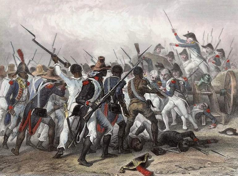 Bitwa pod Vertières /Wikimedia Commons – repozytorium wolnych zasobów /INTERIA.PL/materiały prasowe