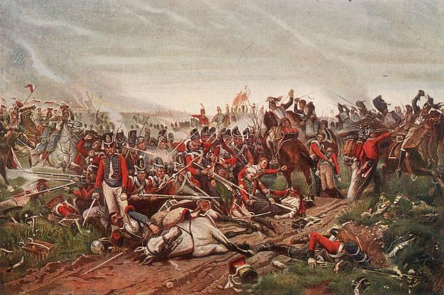 Bitwa pod Waterloo położyła kres epoce napoleońskiej /Getty Images