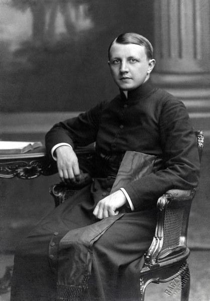 Ksiądz Ignacy Skorupka - zginął w obronie Warszawy 14 sierpnia 1920 r.