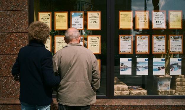 Biura podróży przeżywają oblężenie. Fot. BRUNO /Reporter