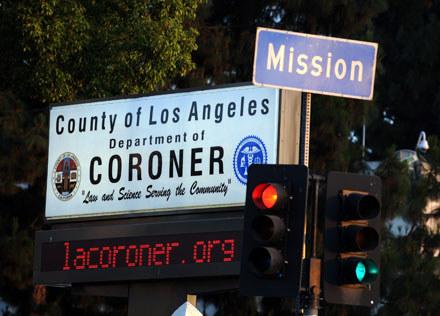 Biuro koronera w Los Angeles /arch. AFP