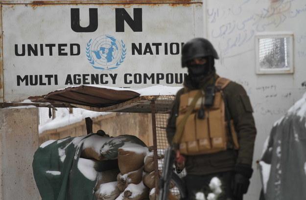 Biuro Organizacji Narodów Zjednoczonych w Heracie, Afganistan /JALIL REZAYEE /PAP/EPA