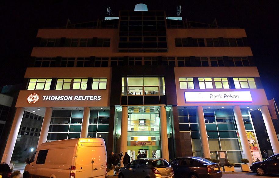 Biurowiec firmy Thomson Reuters w Gdyni /Adam Warżawa /PAP