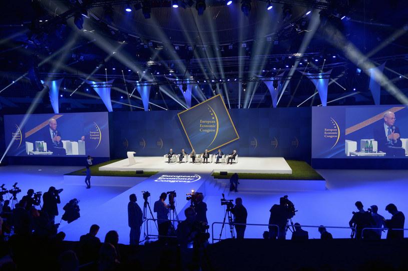 Biznes i politycy spotkają się wkrótce w Katowicach podczas XIII Europejskiego Kongresu Gospodarczego. /Łukasz Kalinowski /East News