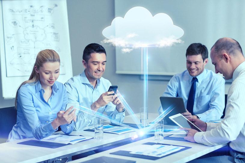 Biznes w chmurze widzi swoją przyszłość /123RF/PICSEL