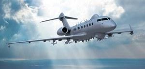 Biznesowy Bombardier Global 5000 w nietypowej roli