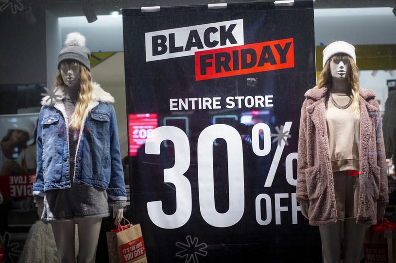 Black Friday w Nowym Jorku /AFP