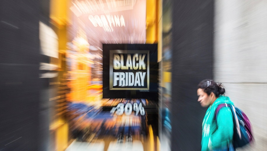 Black Friday /Rodrigo Jimenez /PAP/EPA