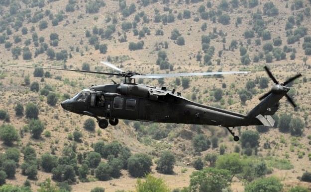 Black Hawk w Afganistanie /AFP