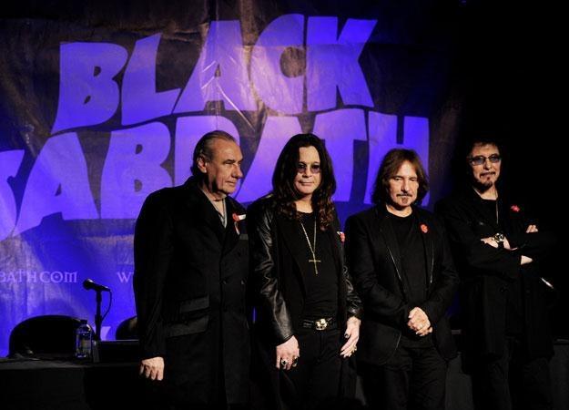 Black Sabbath jeszcze z Billem Wardem (z lewej) fot. Kevin Winter /Getty Images/Flash Press Media