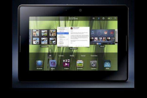BlackBerry - czy będzie godnym konkurentem dla iPada? /Komórkomania.pl