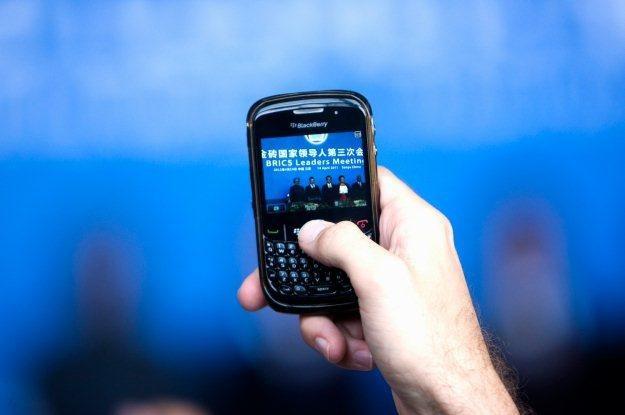 BlackBerry - jeszcze dwa lata temu gigant rynku smartfonów, ale dzisiaj firma RIM nie ma tak lekko /AFP