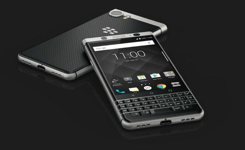 Blackberry KEYone to póki co jedyny model Blackberry na ten rok /materiały prasowe