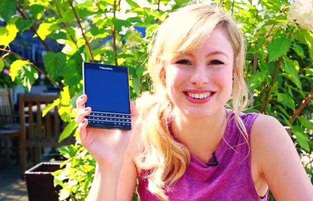 BlackBerry Passport /materiały prasowe