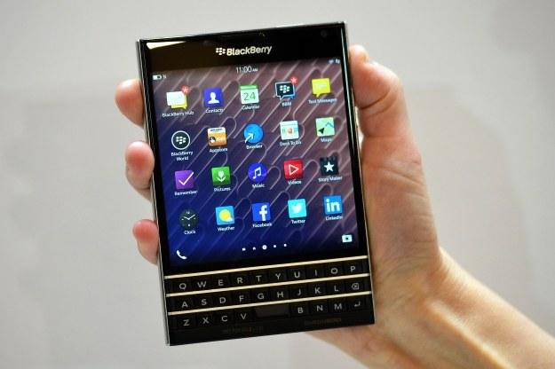 BlackBerry Passport /AFP