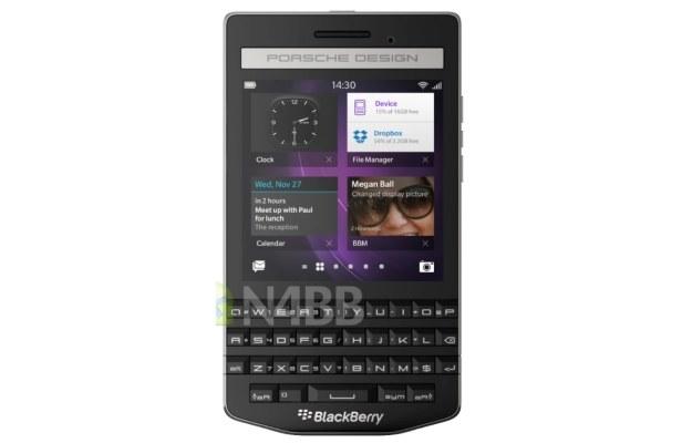 BlackBerry Porsche Design P'9983.   Fot. N4BB /materiały prasowe