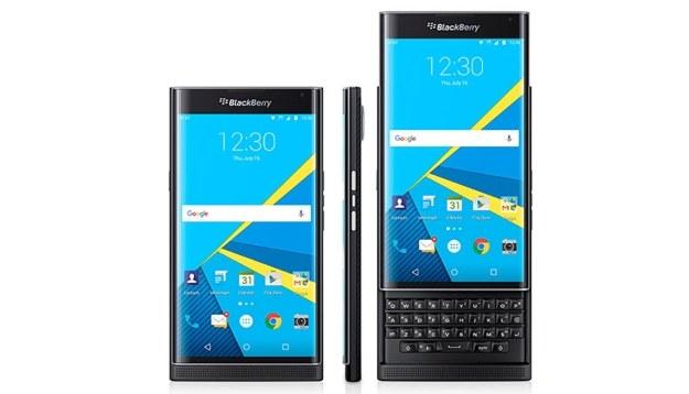BlackBerry Priv działa pod kontrolą Androida /materiały prasowe