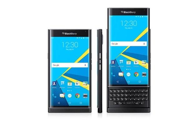 BlackBerry Priv z Androidem /materiały prasowe