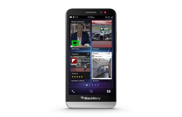 BlackBerry Z30 /materiały prasowe