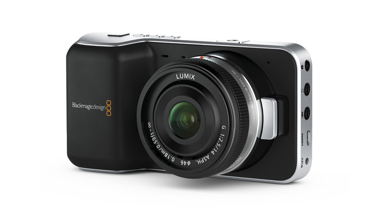 Blackmagic Pocket Cinema Camera /materiały prasowe