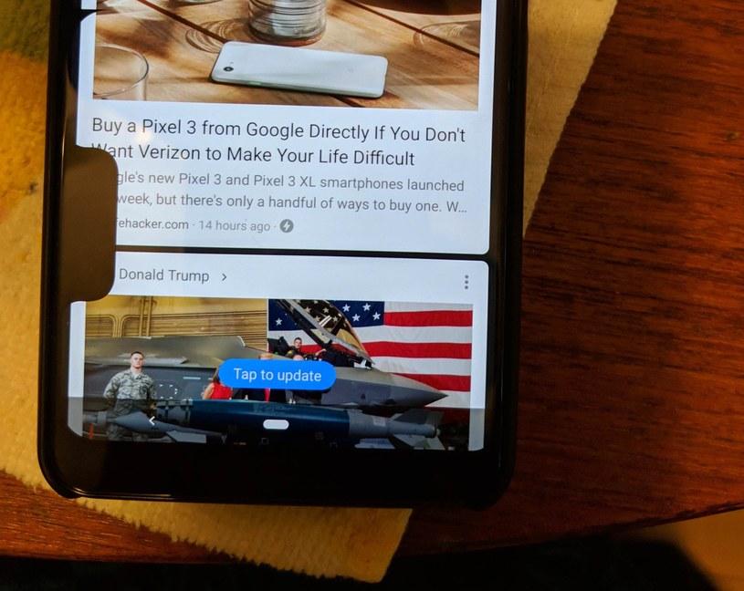Błąd w oprogramowaniu Google Pixel 3 XL / fot. Reddit /materiał zewnętrzny