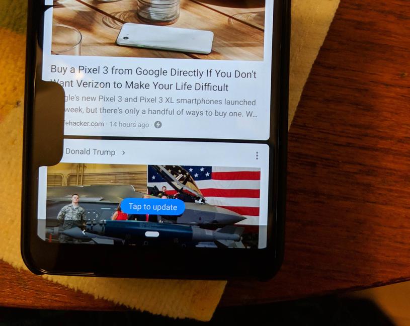 Google Pixel 3 XL z podwójnym notchem  To tylko błąd