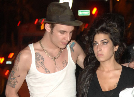 Blake Fielder-Civil i Amy Winehouse - fot. Gustavo Caballero /Getty Images/Flash Press Media