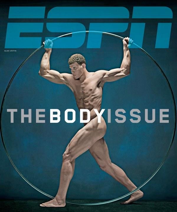 Blake Griffin na okładce magazynu ESPN /INTERIA.PL