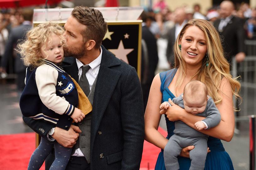 Blake Lively i Ryan Reynolds mają dwójkę dzieci /Getty Images