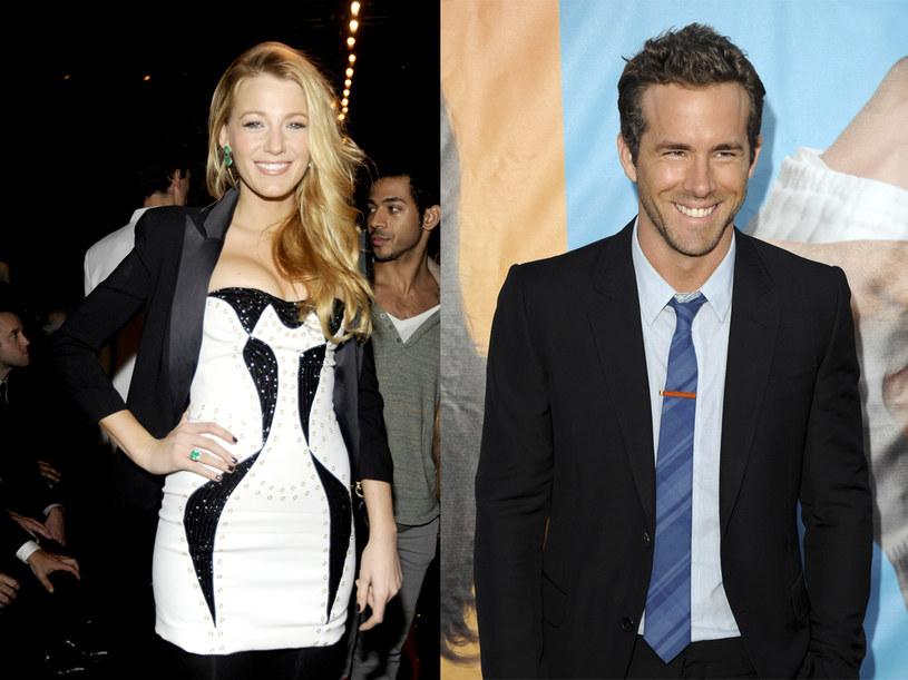 Blake Lively i Ryan Reynolds -  nowa hollywoodzka para?  /Getty Images/Flash Press Media