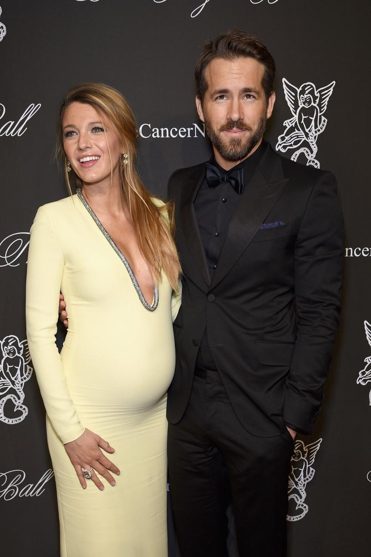 Blake Lively i Ryan Reynolds zostali rodzicami! /Dimitrios Kambouris /Getty Images